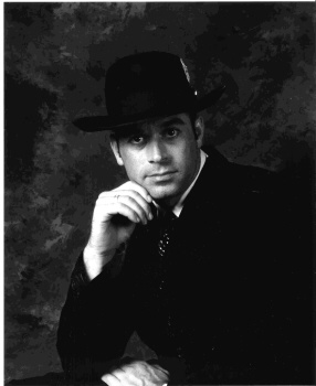 Mike in a 1920's Chicago gangster costume