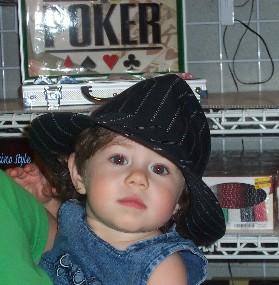 Olivia's poker face.