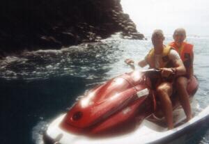 Jetskiing in Tenerife