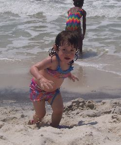 Olivia on Panama City Beach.